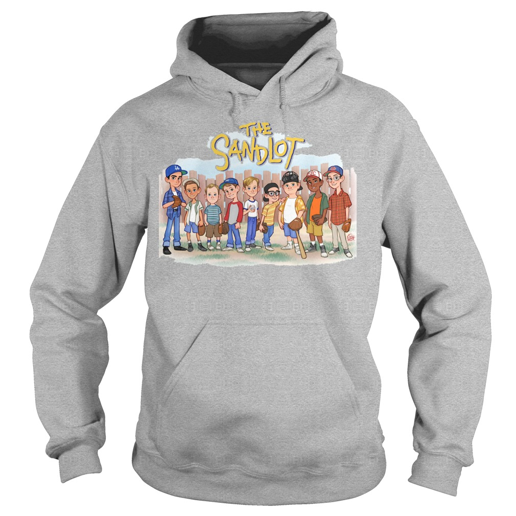 The Sandlot Chibi Cartoon hoodie