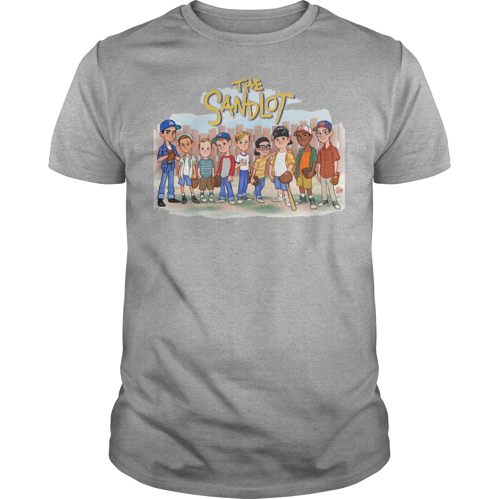 The Sandlot Chibi Cartoon shirt