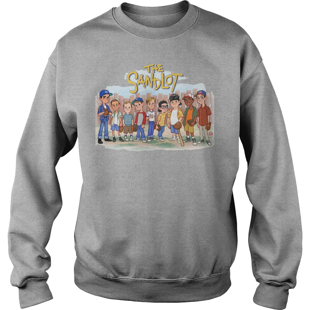 The Sandlot Chibi Cartoon sweater
