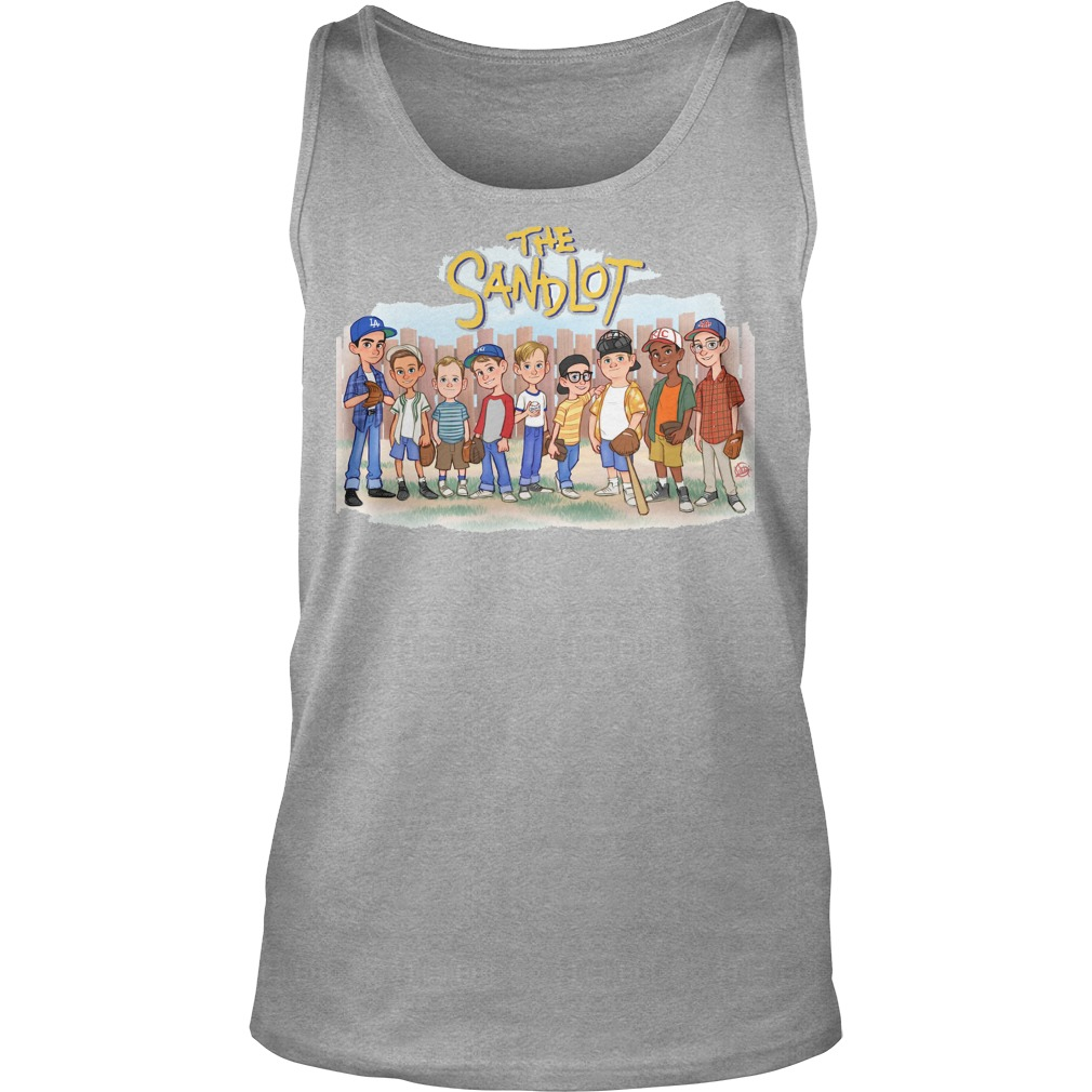 The Sandlot Chibi Cartoon tank top