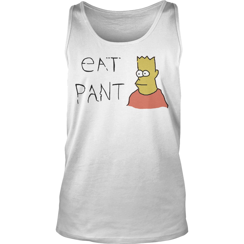 Simpsons Eat Pant tank top