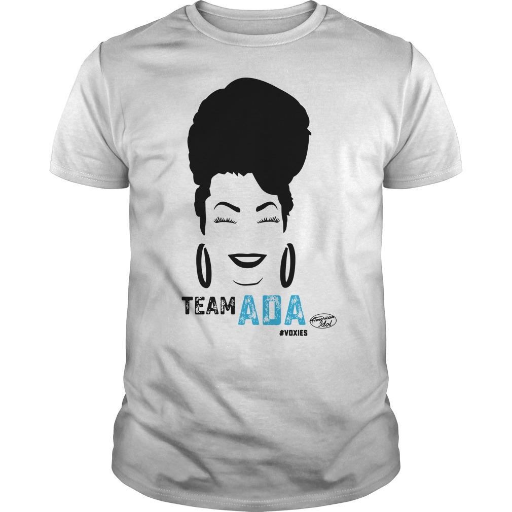 Team Ada American idol shirt