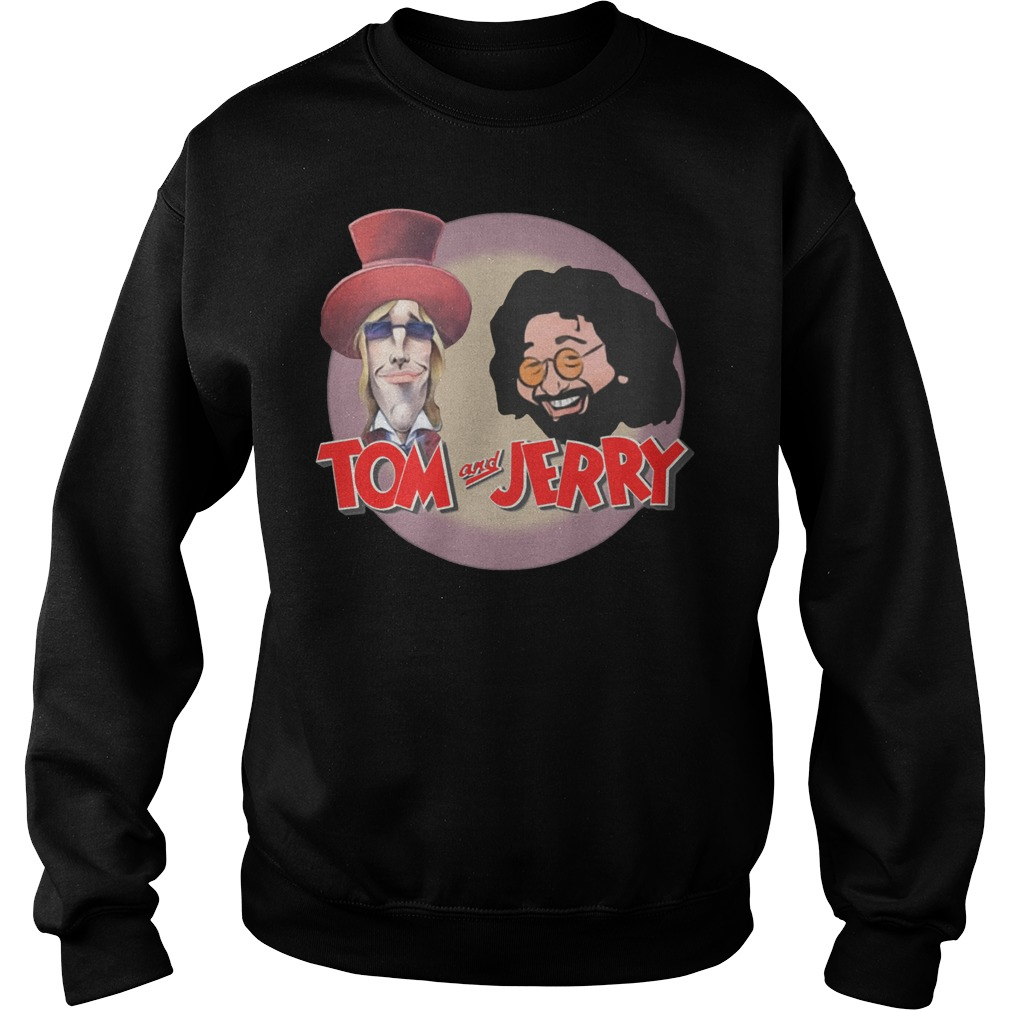 Tom and Jerry: Tom Petty and Jerry Garcia Sweater