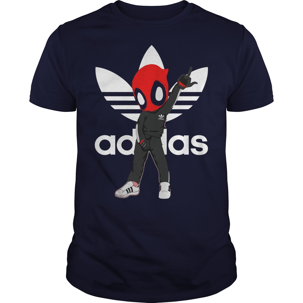 Adidas Deadpool Guys t shirt
