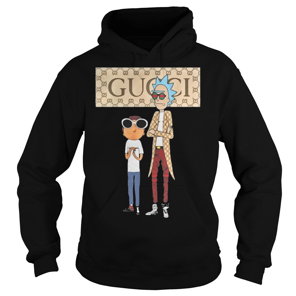Gucci Rick and Morty hoodie