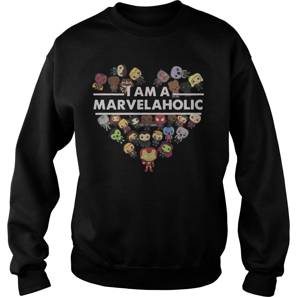 I am the Marvelholic sweater