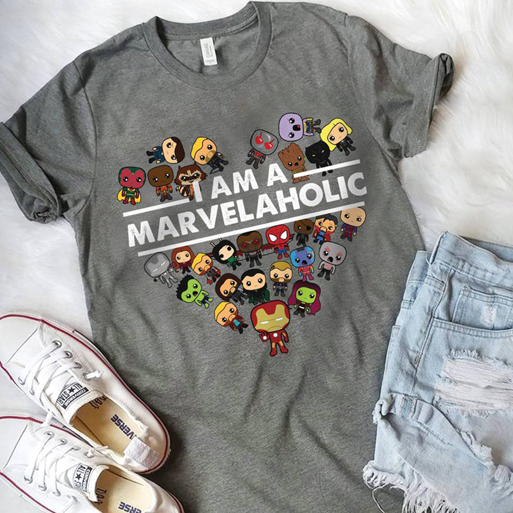 I am the Marvelholic shirt