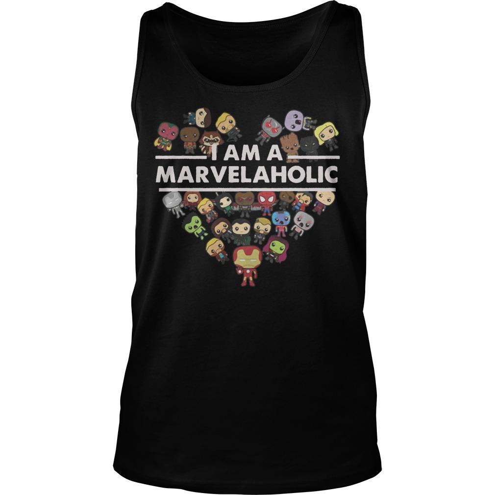 I am the Marvelholic tank top