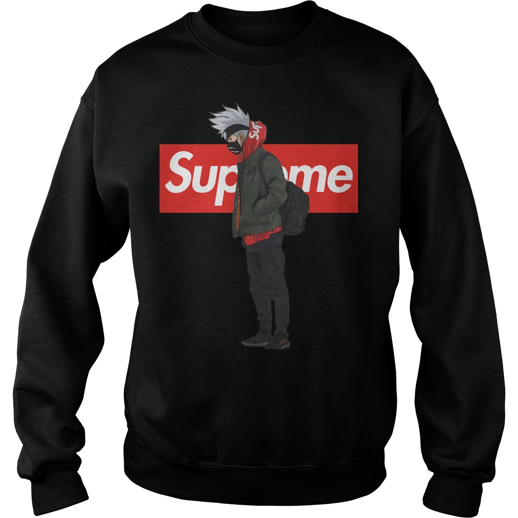 Supreme Kakashi sweater