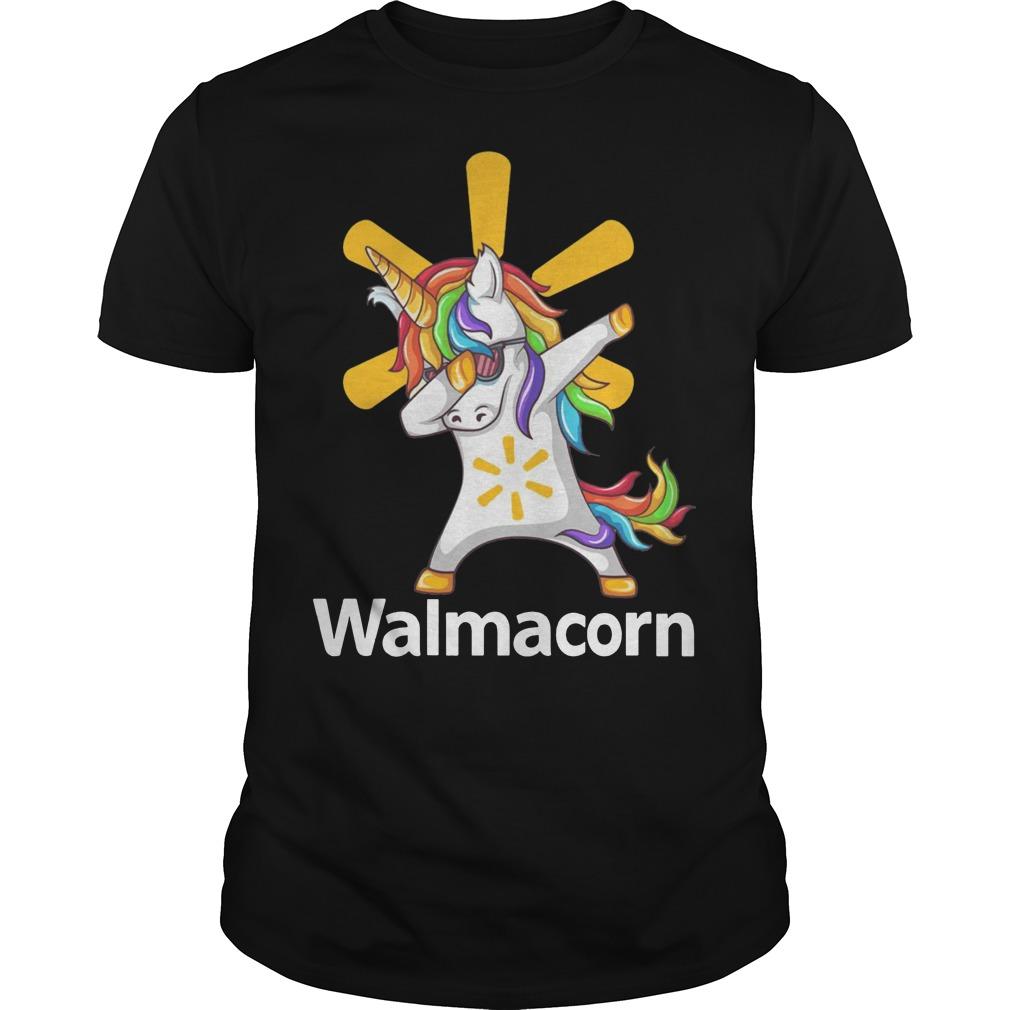 Unicorn Dabbing Walmart shirt