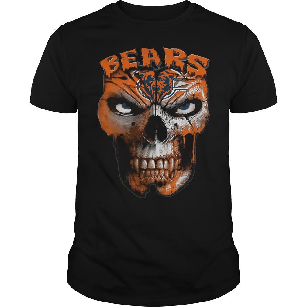 Chicago Bears skull shirt