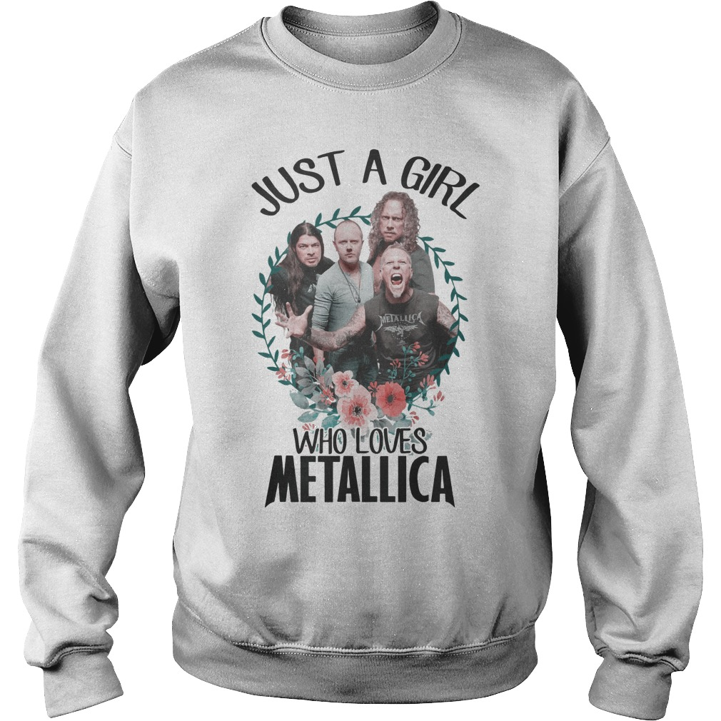 Just a girl who love Metallica Sweater
