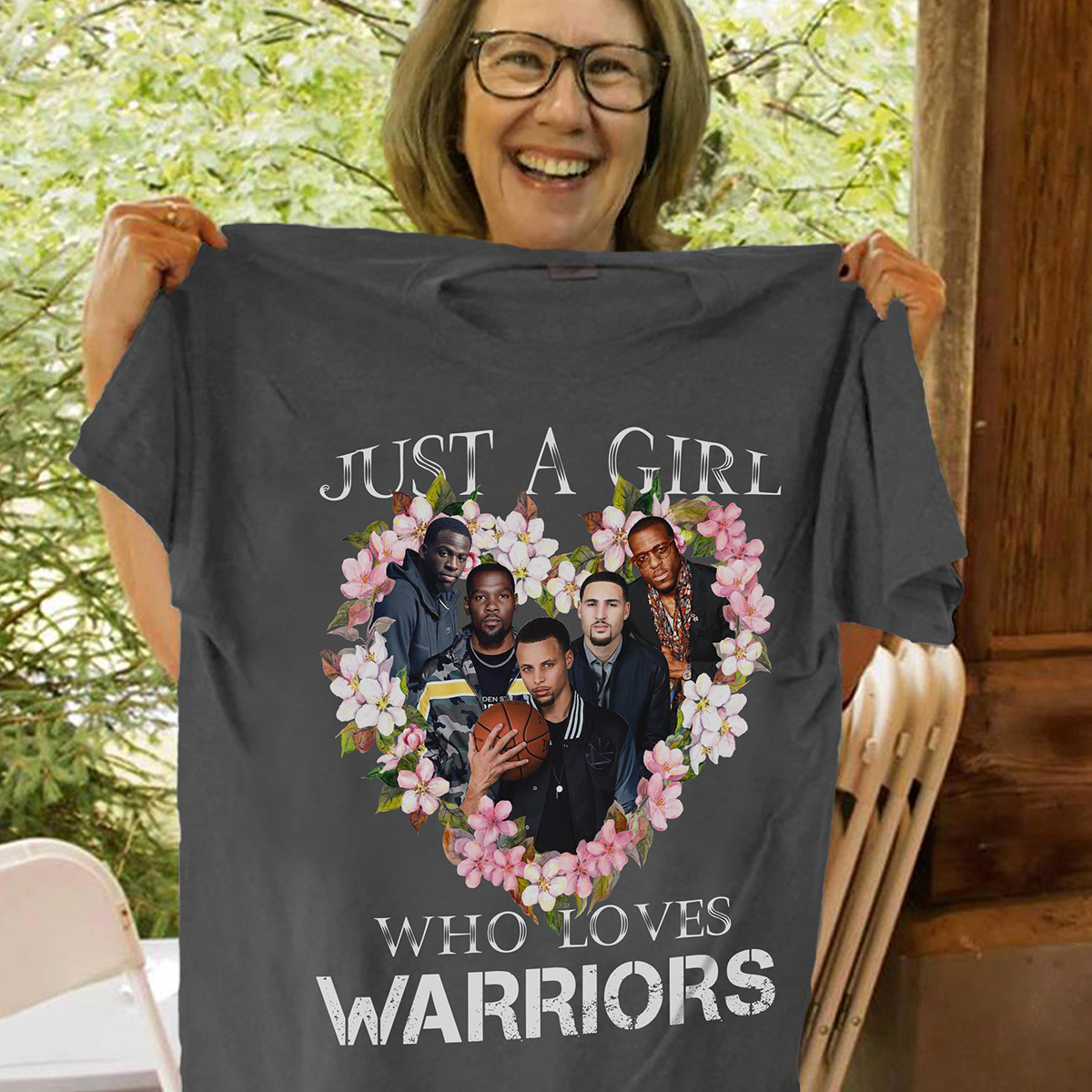 Just a girl who loves warriors shirt