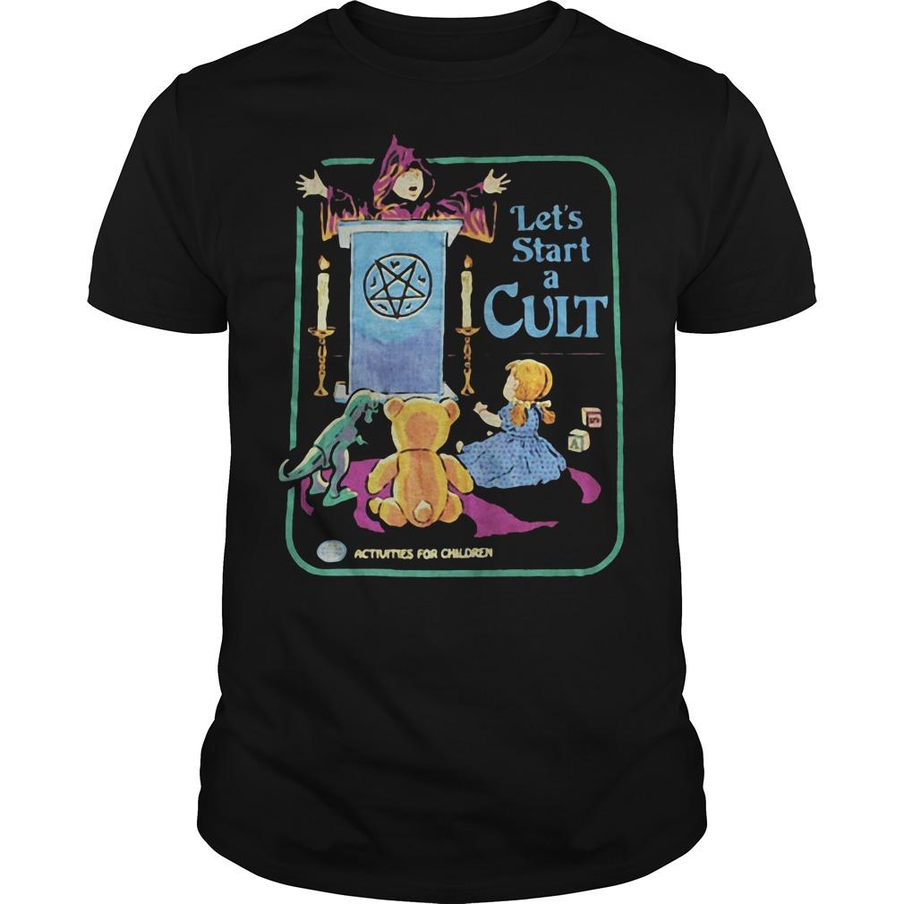 Let's start a cult shirt