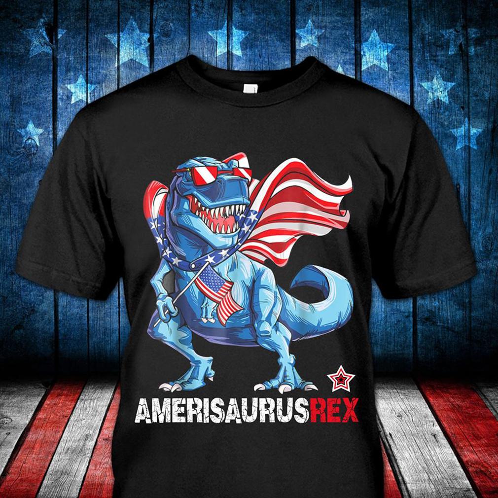 American Saurus rex shirt