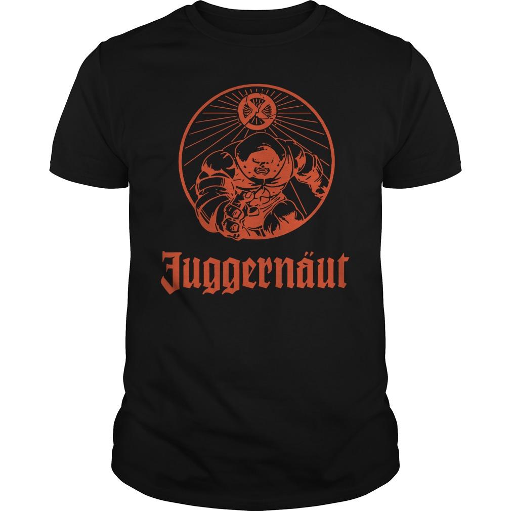 Official Juggernaut shirt