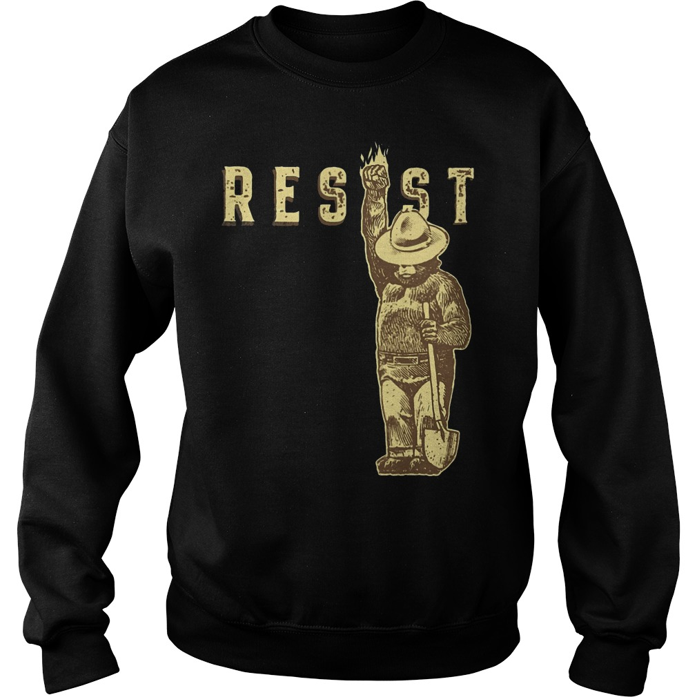 Official smokey bear says resist sweater