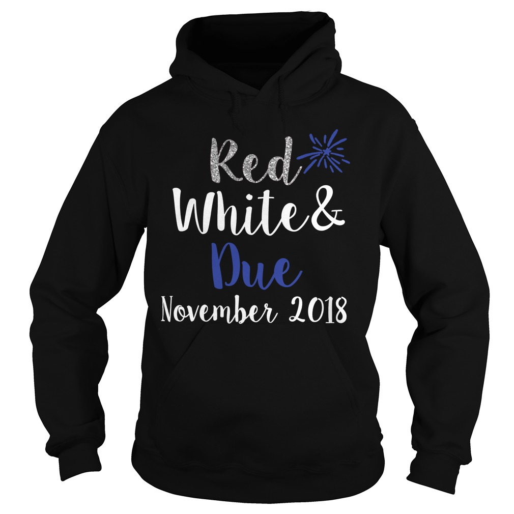 Red white and Blue november 2018 Hoodie
