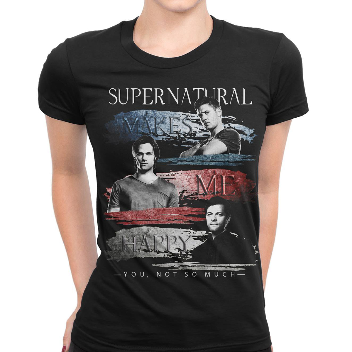 Supernatural make me happy you not so much shirt