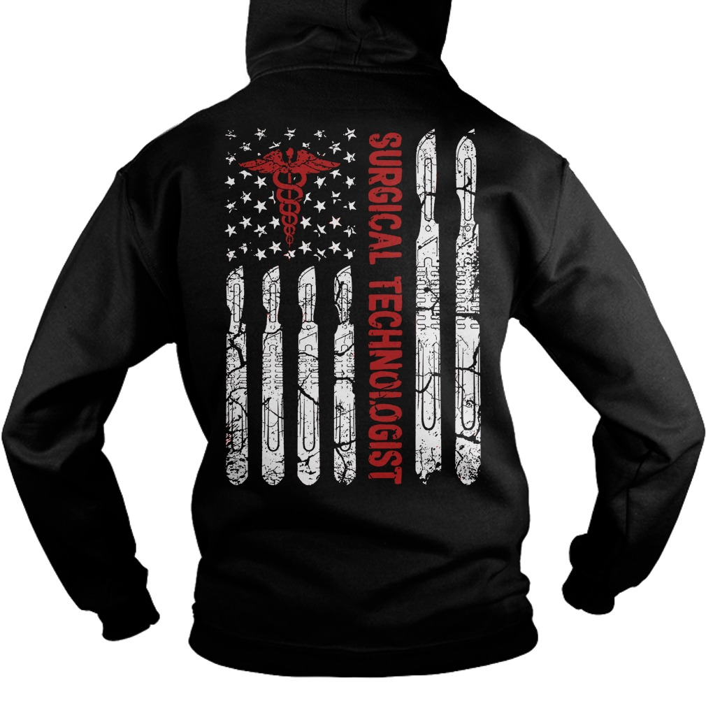 Official Surgical technologist flag shirt, hoodie, tank ...