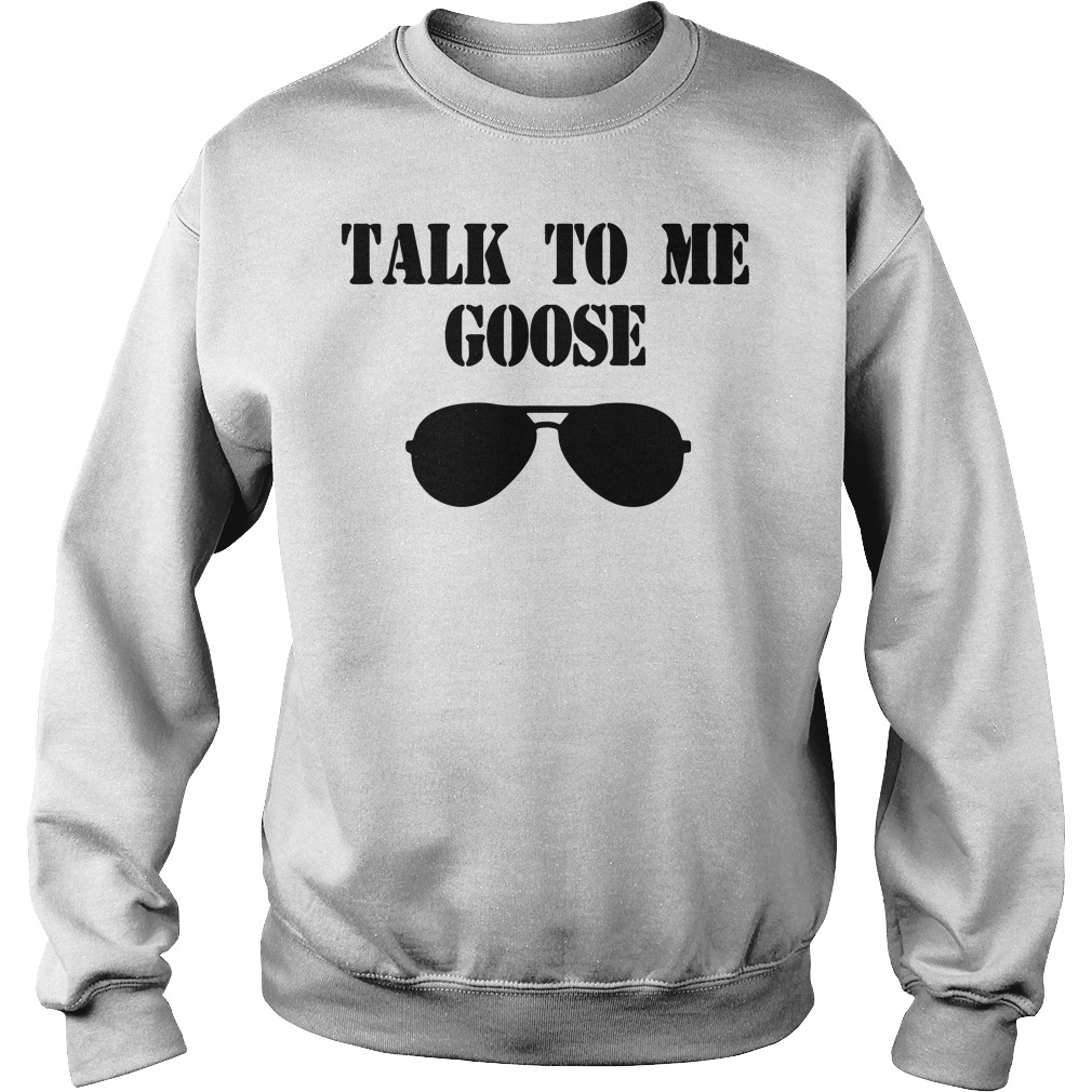 Talk to me goose glass sweater