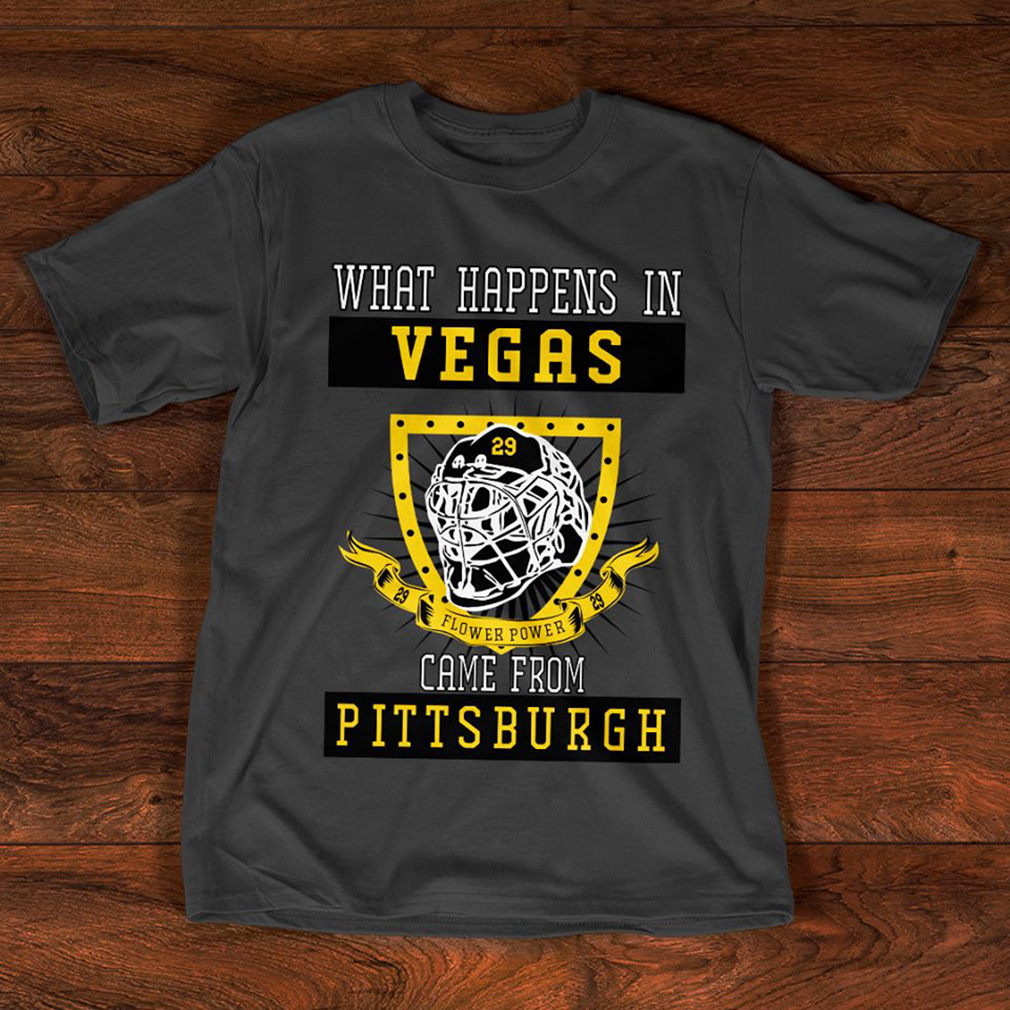Official What happens in vegas came from Pittsburgh shirt