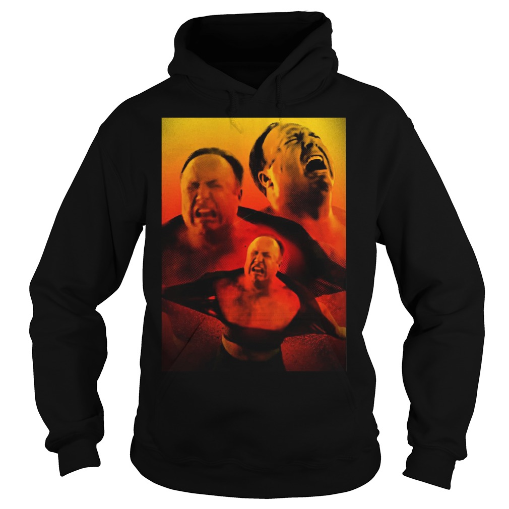 Alex Jones is Angry hoodie