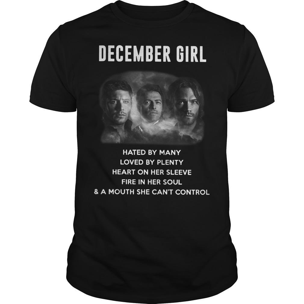 December girl Supernatural shirt