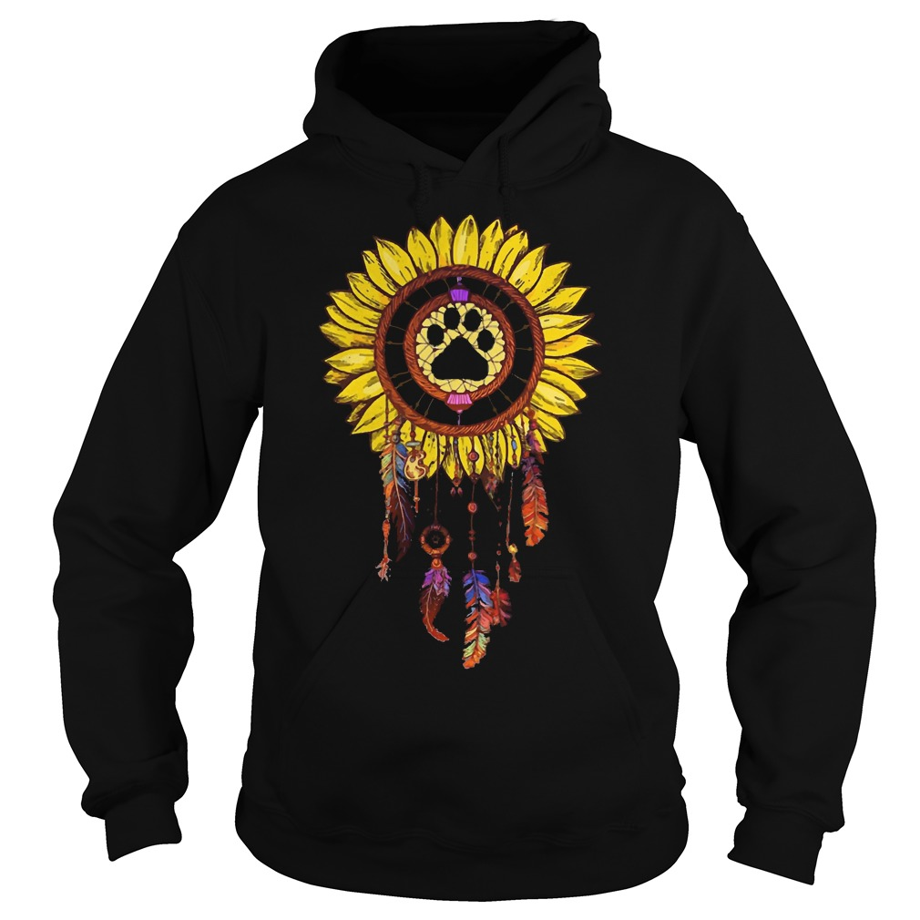 Dogs Dream Catcher Hoodie