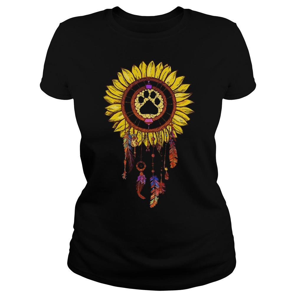 Dogs Dream Catcher Ladies t-shirt
