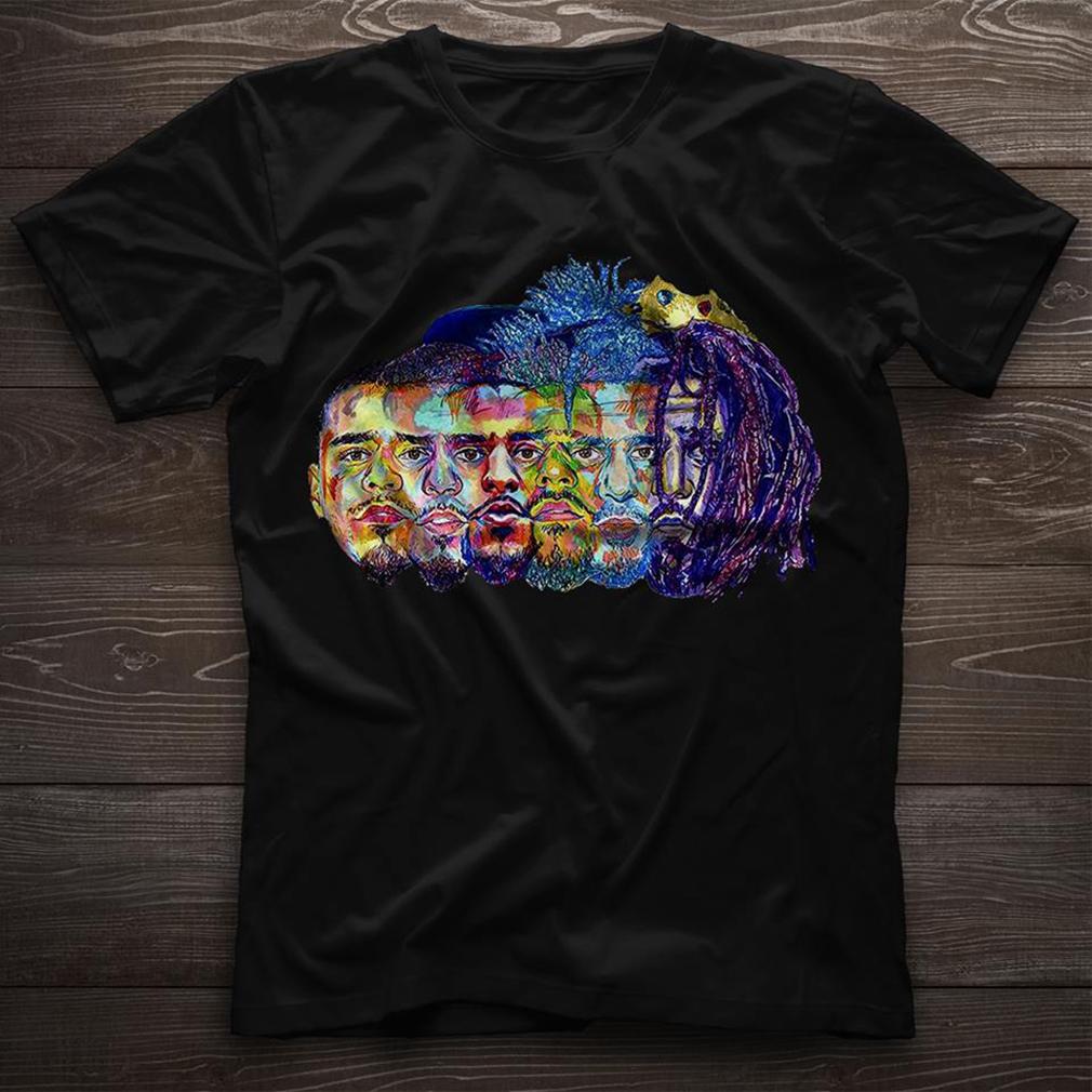 Evolution of J Cole Black shirt