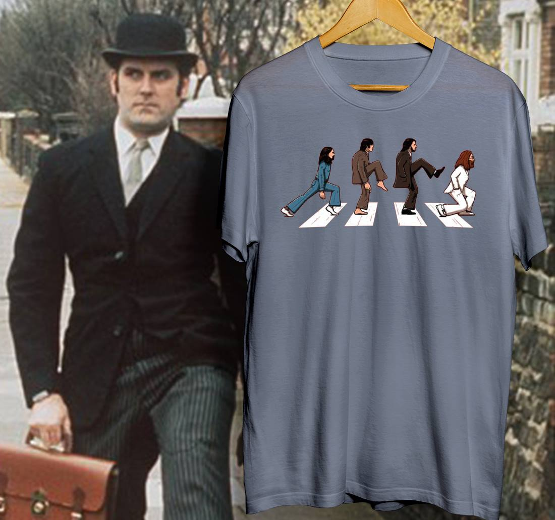 Monty Python The Royal Philharmonic Orchestra Goes To The Bathroom: Monty Python The Beatles Abbey Road Silly Walks Shirt