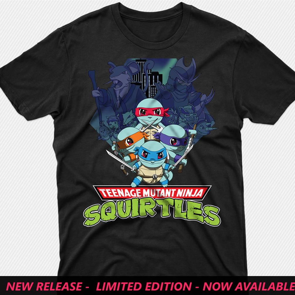 Teenage mutant ninja squirtles shirt from 1Stees
