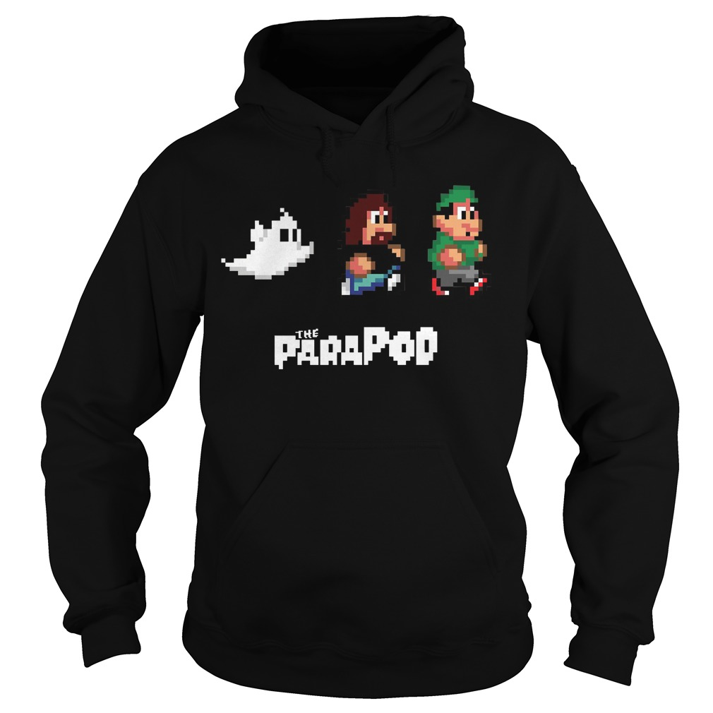 8 bit Ian and Barry hoodie