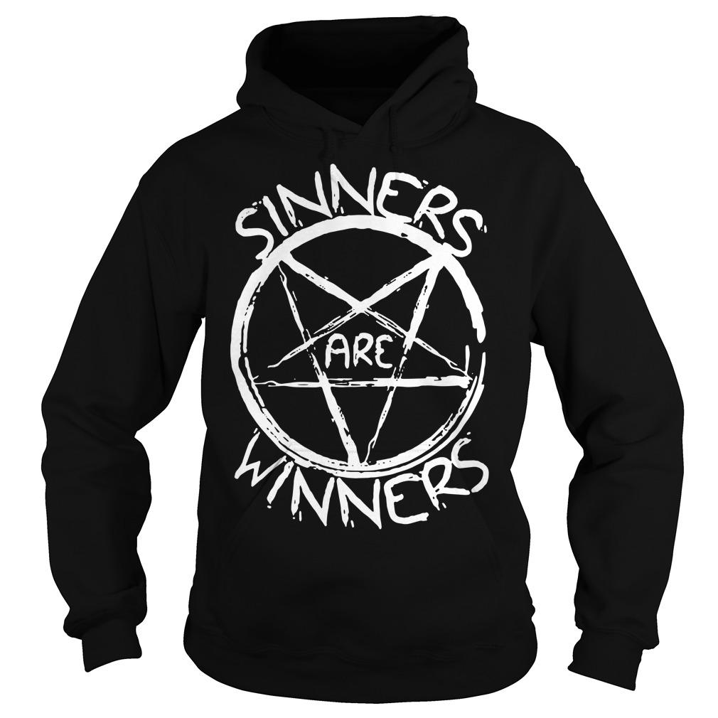 Sinners are Winners Hoodie