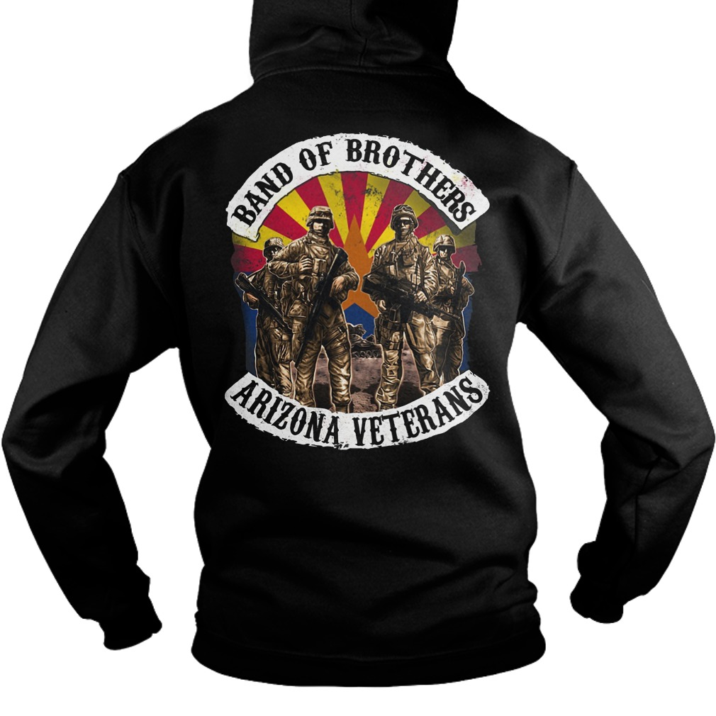 Band of brothers arizona veterans hoodie