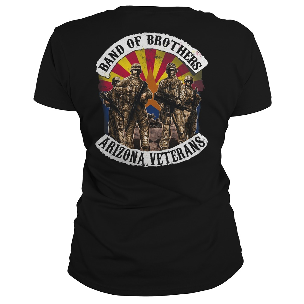 Band of brothers arizona veterans ladies tee