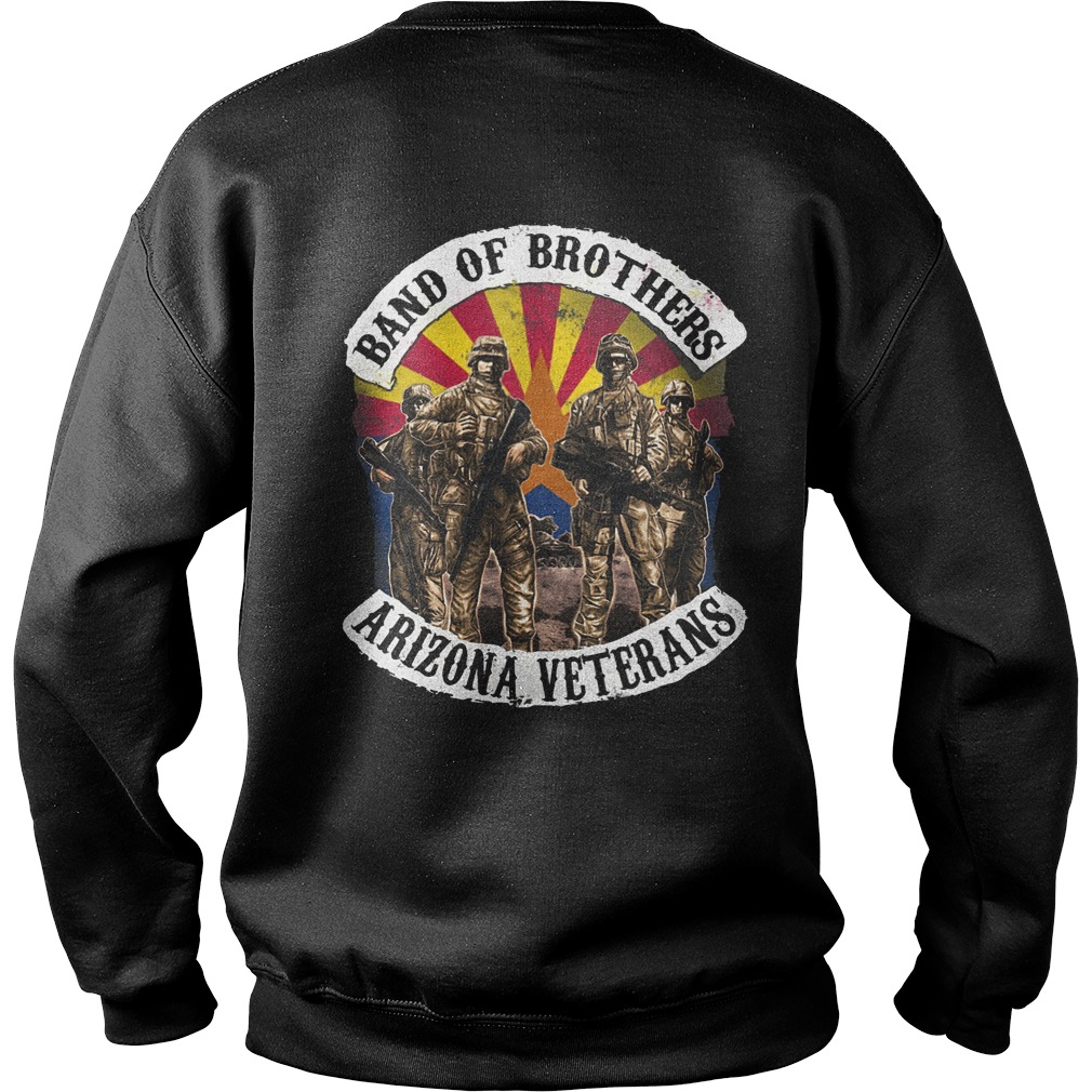 Band of brothers arizona veterans sweater