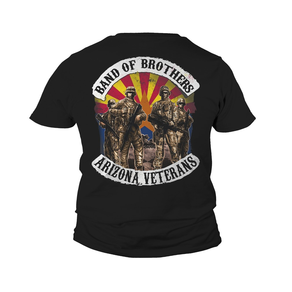 Band of brothers arizona veterans youth tee