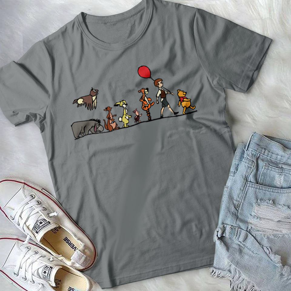 b03add568410 Official Christopher Robin s friends in Winnie the Pooh shirt