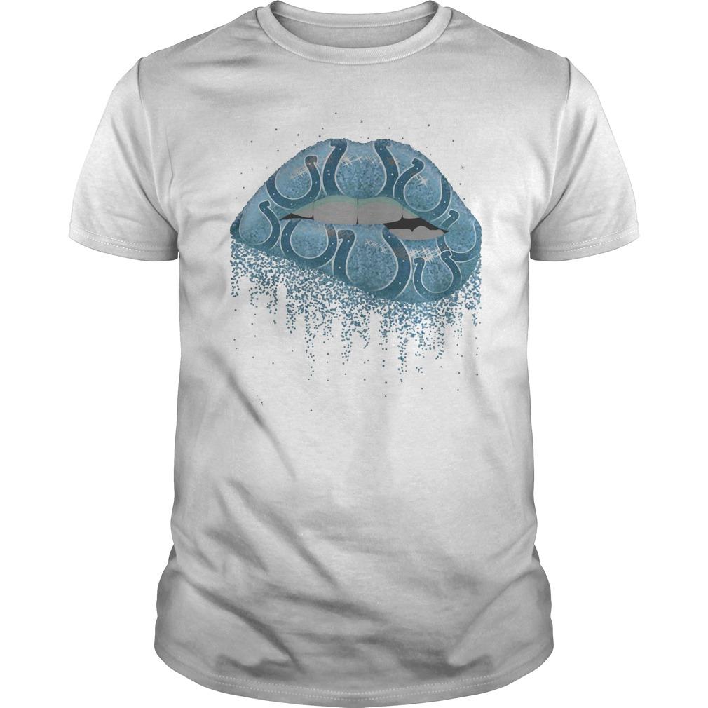 Indianapolis Colts lip shirt