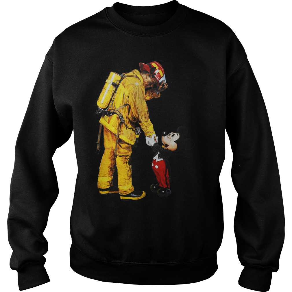 Mickey And The Bravest sweater