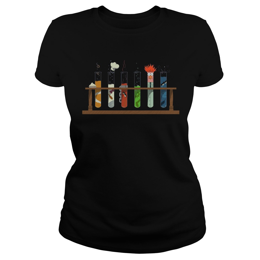 Muppet Science ladies shirt