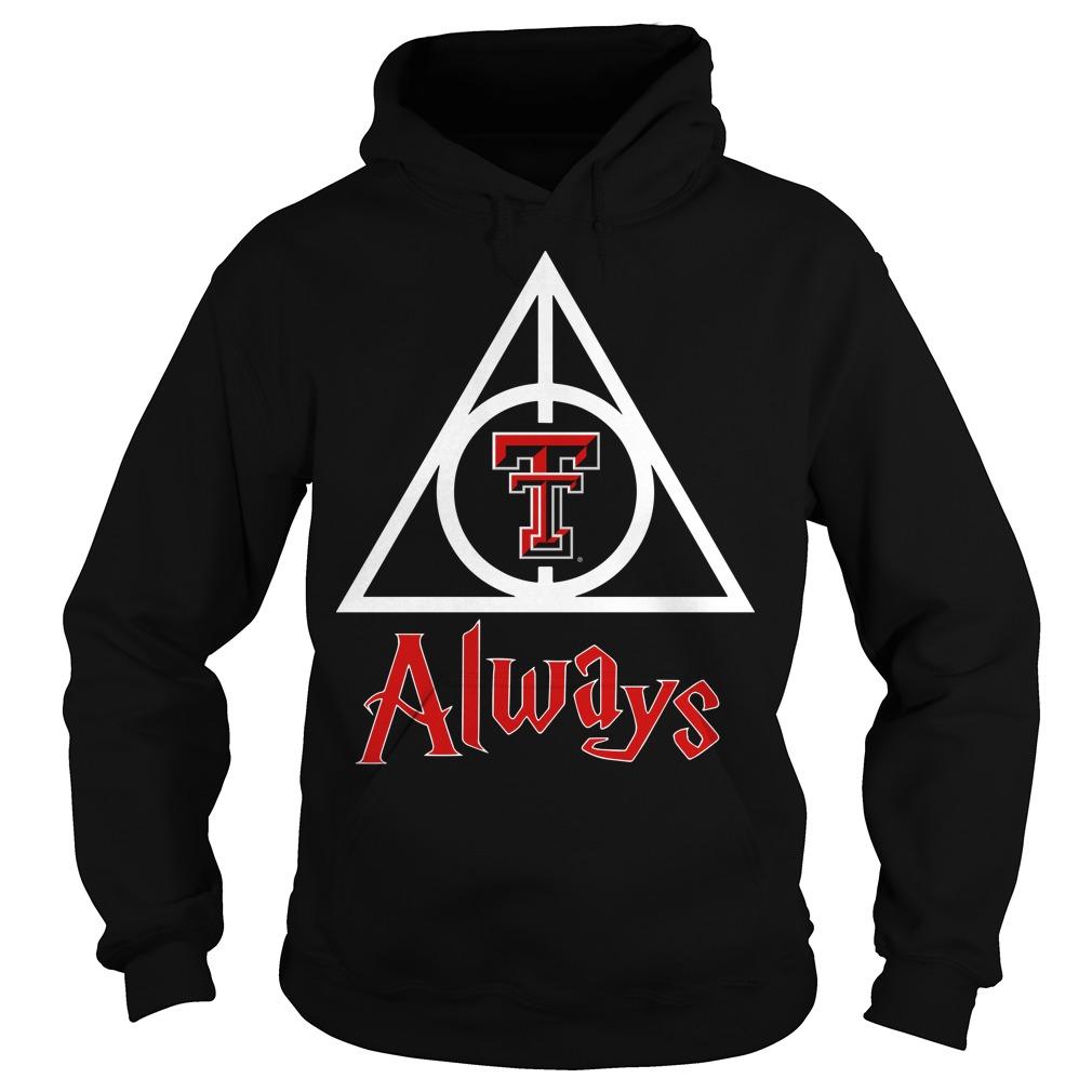 Texas Tech Red Raiders always hoodie