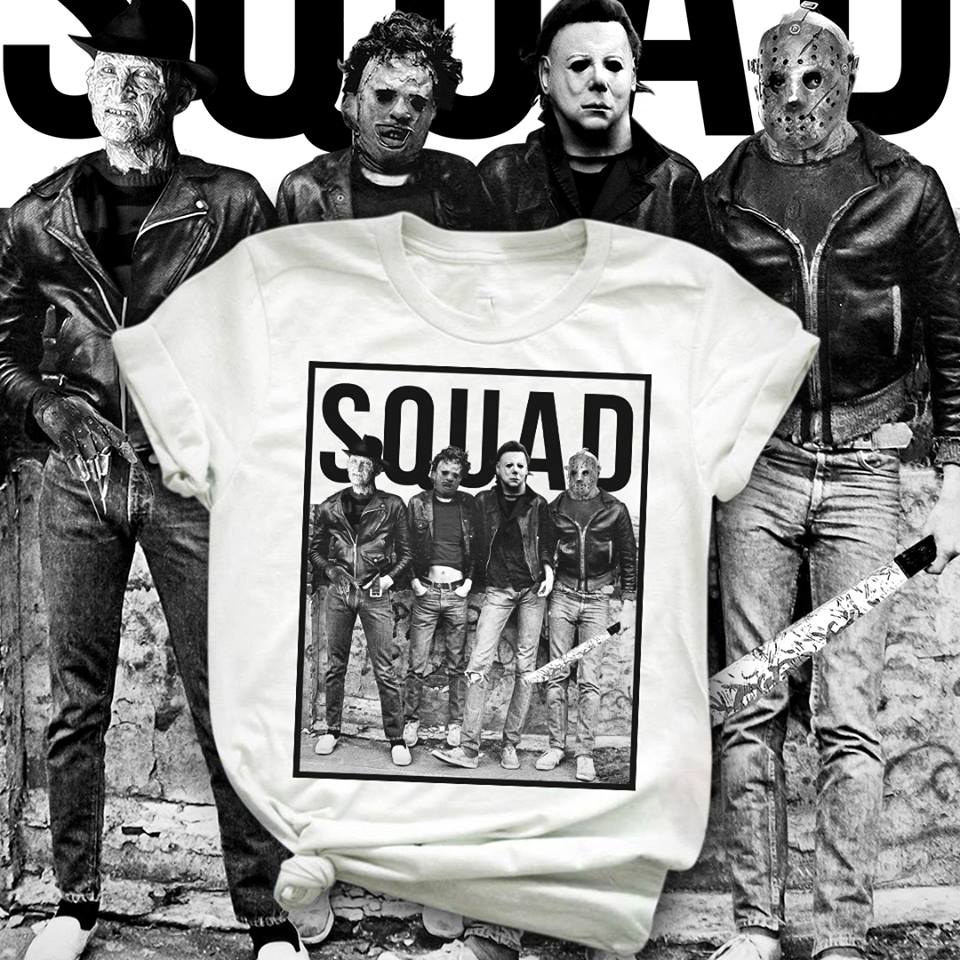 official the nightmare squad shirt, hoodie, tank top and sweater