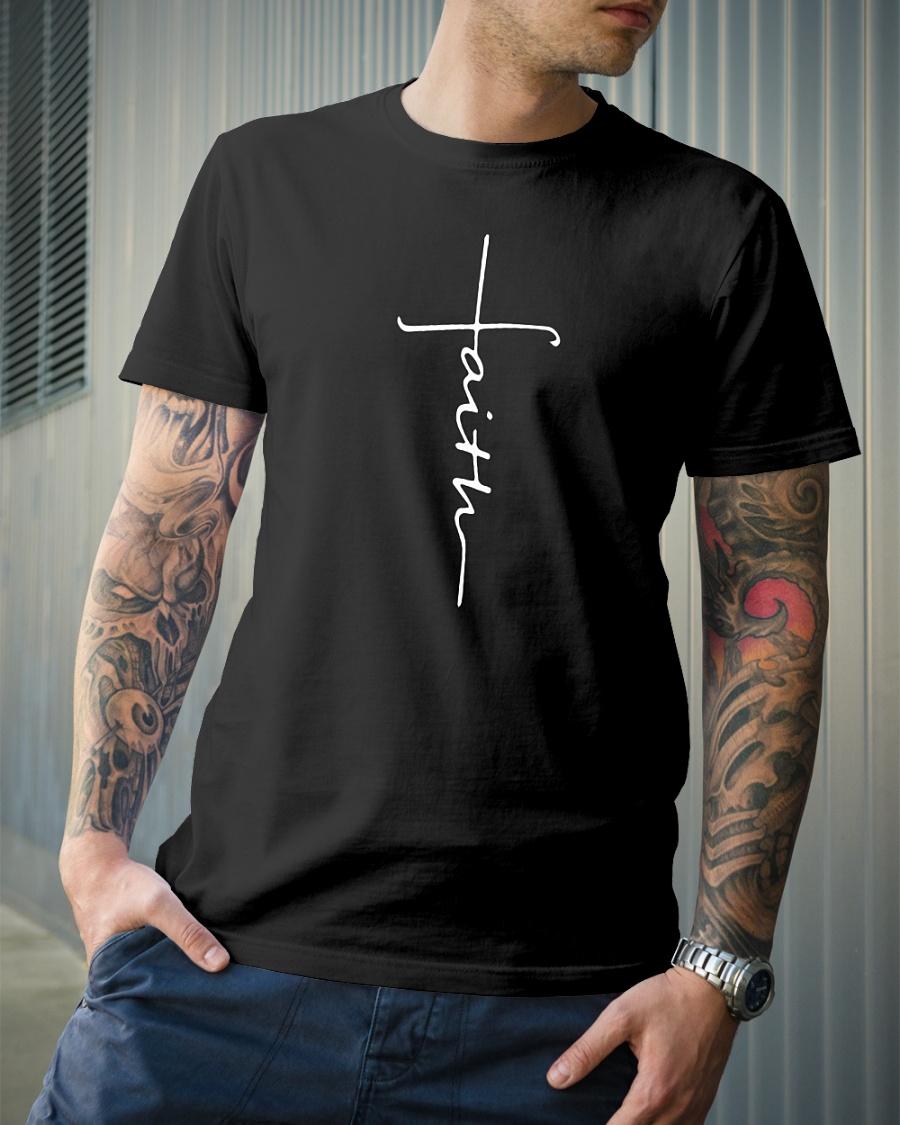 Faith cross shirt