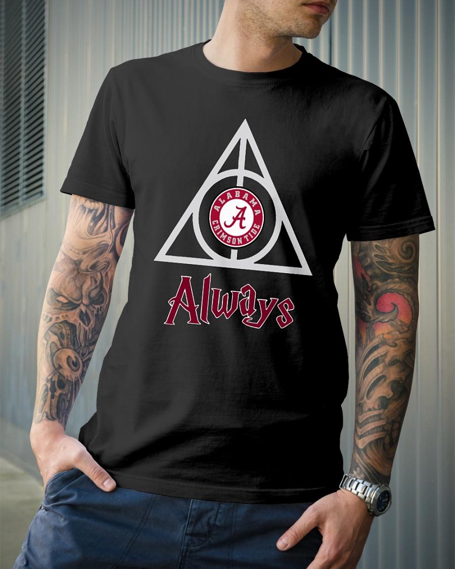 Hogwarts Always Alabama Crimson Tide shirt