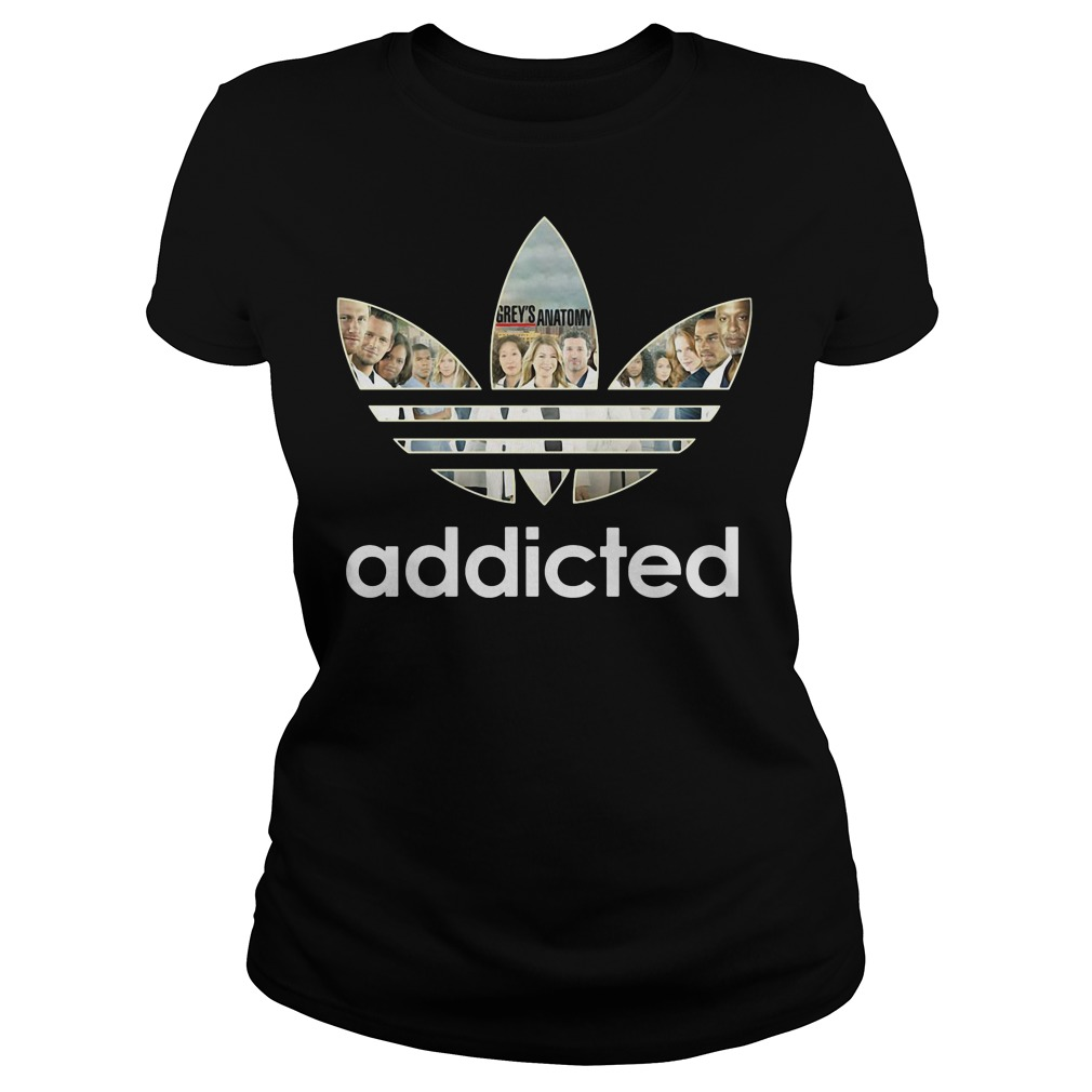 Grey's Anatomy Adidas ladies tee