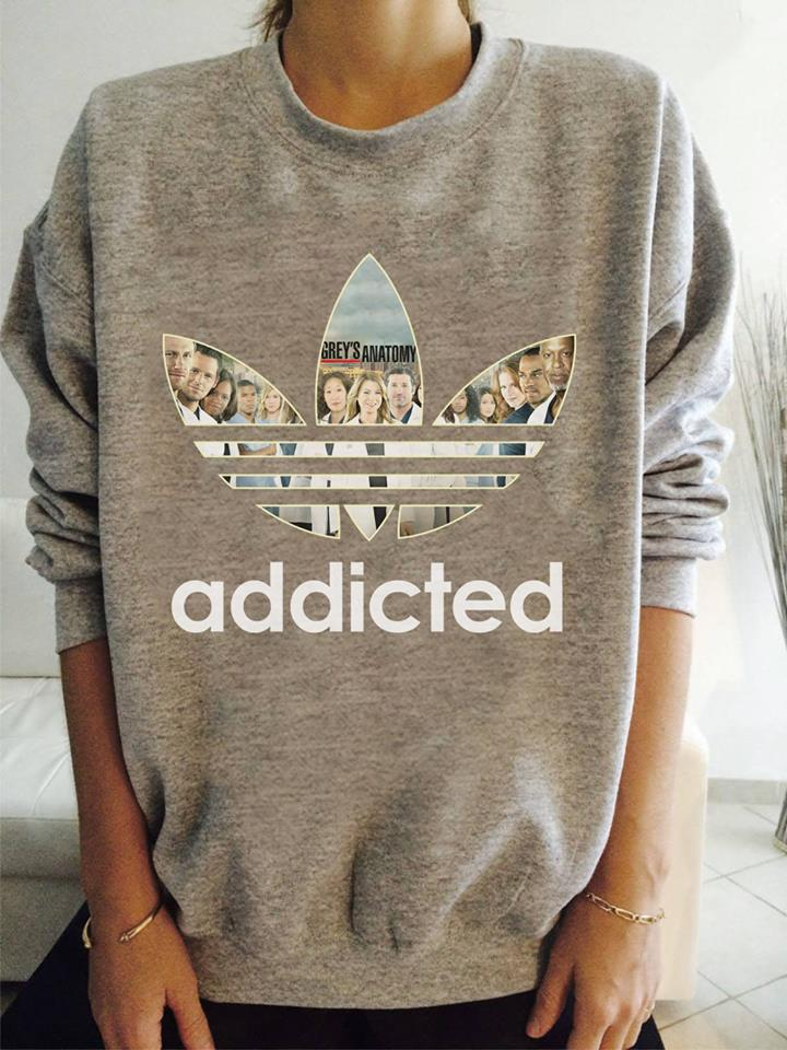 Grey's Anatomy Adidas shirt