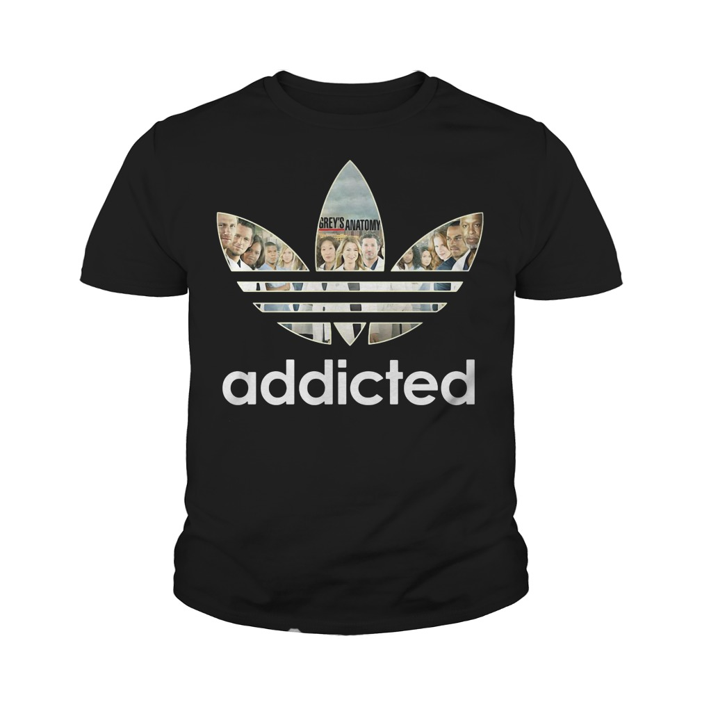 Grey's Anatomy Adidas youth tee